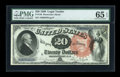 Large Size:Legal Tender Notes, Fr. 136 $20 1880 Legal Tender PMG Gem Uncirculated 65 EPQ....