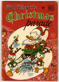Golden Age (1938-1955):Cartoon Character, Dell Giant Comics Christmas Parade #1 (Dell, 1949) Condition:VG-....