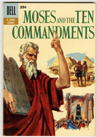 Dell Giant Comics Moses and the Ten Commandments #1 File Copy (Dell, 1957) Condition: VF/NM