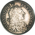 Colonials, 1670-A 5SOL French Colonies 5 Sols MS62 PCGS....