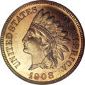 Proof Indian Cents, 1908 1C PR66 Red PCGS....