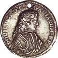 Mexico, Mexico: Luis I ND (c. 1724) silver Proclamation Medal,...