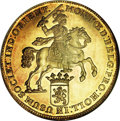 Netherlands East Indies, Netherlands East Indies: Proof gold Ducaton (Rider) 1728Holland,...