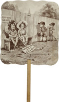 Political:Small Paper (1896-present), Woman's Suffrage and Baseball Fan....