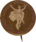 Political:Pinback Buttons (1896-present), [Woman's Suffrage] Congressional Union Herald Pin....
