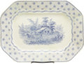 "Political:3D & Other Display (pre-1896), William Henry Harrison: ""Columbian Star"" Campaign Platter..."