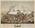 Antiques:Posters & Prints, Print: Battle of New Orleans and Death of Major GeneralPackenham on the 8th of January 1815....