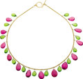 Estate Jewelry:Necklaces, Tourmaline, Peridot, Gold Necklace. ...