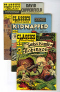 Golden Age (1938-1955):Classics Illustrated, Classics Illustrated Group (Gilberton, 1947-50).... (Total: 16Comic Books)