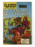 Golden Age (1938-1955):Classics Illustrated, Classics Illustrated #66 The Cloister and the Hearth - FirstCanadian Edition (Gilberton, 1949) Condition: FN+....