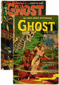 Golden Age (1938-1955):Horror, Ghost #10 and 11 Group (Fiction House, 1954).... (Total: 2 ComicBooks)