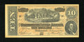 Confederate Notes:1864 Issues, Facsimile T68 $10 1864 Ad Note.. ...