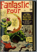 Silver Age (1956-1969):Superhero, Fantastic Four #1-9 Bound Volume (Marvel, 1961-62)....