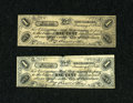 Obsoletes By State:Rhode Island, Providence, (RI)- Perry Davis & Son 1¢ Jan. 1, 1854 Two Examples. ... (Total: 2 notes)