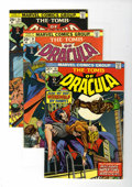 Bronze Age (1970-1979):Horror, Tomb of Dracula Group (Marvel, 1974-76) Condition: Average VF+unless otherwise noted.... (Total: 13 Comic Books)