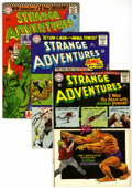 Golden Age (1938-1955):Science Fiction, Strange Adventures #180, 184, and 190 Animal Man Group (DC,1965-66) Condition: Average VG.... (Total: 6 Comic Books)