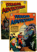 Golden Age (1938-1955):Science Fiction, Strange Adventures #11 and 13 Group (DC, 1951) Condition: AverageGD-.... (Total: 2 Comic Books)