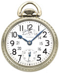Timepieces:Pocket (post 1900), Waltham Vanguard with Up/Down Wind Indicator, circa 1932. ...