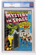 Silver Age (1956-1969):Science Fiction, Mystery in Space #106 Pacific Coast pedigree (DC, 1966) CGC NM+ 9.6White pages....