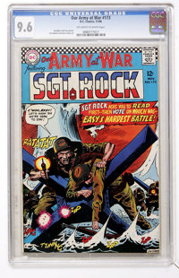 Our Army at War #173 (DC, 1966) CGC NM+ 9.6 Off-white to white pages