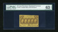 Fractional Currency:First Issue, Fr. 1281 25c First Issue PMG Choice Uncirculated 63 EPQ....