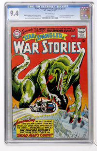 Star Spangled War Stories #116 (DC, 1964) CGC NM 9.4 Off-white pages