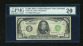 Small Size:Federal Reserve Notes, Fr. 2212-D $1000 1934A Federal Reserve Note. PMG Very Fine 20.. ...