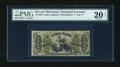 Fractional Currency:Third Issue, Fr. 1363 50c Third Issue Justice PMG Very Fine Net 20....