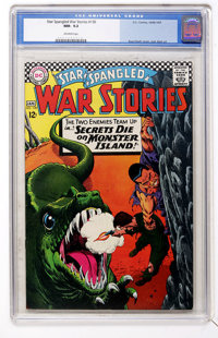 Star Spangled War Stories #130 (DC, 1966) CGC NM- 9.2 Off-white pages
