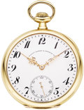 "Timepieces:Pocket (post 1900), Patek Philippe Gold ""Special"" High Grade Watch, circa 1917. ..."