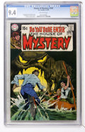 Bronze Age (1970-1979):Horror, House of Mystery #185 (DC, 1970) CGC NM 9.4 Off-white pages....