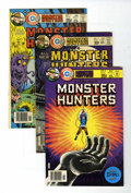 Bronze Age (1970-1979):Horror, Monster Hunters Group (Charlton, 1976-78) Condition: AverageVF/NM.... (Total: 12 )