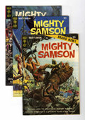 Silver Age (1956-1969):Science Fiction, Mighty Samson Group (Gold Key, 1964-74) Condition: Average VF/NM.... (Total: 19 Comic Books)
