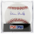Autographs:Baseballs, Robin Roberts Single Signed Baseball, PSA Gem Mint 10. No Phillyright-hander has won more games than the dominant Hall of F...