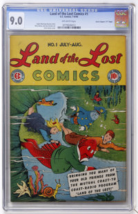 """Land of the Lost #1 Davis Crippen (""""D"""" Copy) pedigree (EC, 1946) CGC VF/NM 9.0 Off-white pages"""