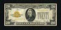 Fr. 2402 $20 1928 Gold Certificate. Fine-Very Fine. The edges are sound and the color is nice