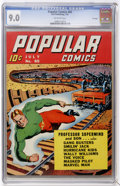 Golden Age (1938-1955):Miscellaneous, Popular Comics #65 File Copy (Dell, 1941) CGC VF/NM 9.0 Off-white pages....