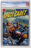 Golden Age (1938-1955):Science Fiction, Tom Corbett Space Cadet #5 (Dell, 1953) CGC NM 9.4 Cream tooff-white pages....