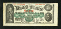 Rochester, NY- McBride & True Oil Co $3 Ad Note 1875 We have only seen this advertising note twice before and th...