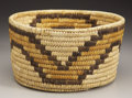 American Indian Art:Baskets, A PAPAGO POLYCHROME COILED BASKET. c. 1930...