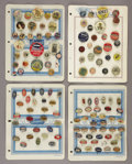Advertising:Small Novelties, Group Lot of Advertising Pins.... (Total: 8 Items)