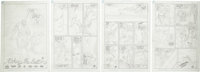 "Curt Swan - Unpublished Aquaman #1, complete 22-page Story ""Taking the Bait"" Pencils Original Art (DC, undated..."