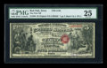 National Bank Notes:Iowa, Red Oak, IA - $5 Original Black Charter Number Fr. 399 The First NB Ch. # 2130. ...