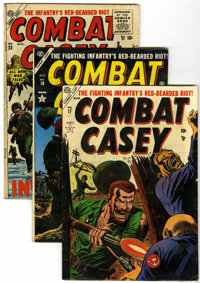 Combat Casey #17, 18, and 23 Group (Atlas, 1954-55).... (Total: 3 Comic Books)