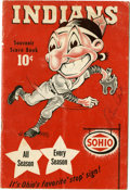 Autographs:Letters, 1947 Cleveland Indians Program Signed by Bill Veeck. Best known forhis flamboyant publicity stunts, the owner of the 1947 ...