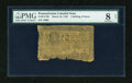 Colonial Notes:Pennsylvania, Pennsylvania March 16, 1785 1s/6d PMG Very Good Net 8....