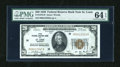 Small Size:Federal Reserve Bank Notes, Fr. 1870-H $20 1929 Federal Reserve Bank Note. PMG Choice Uncirculated 64 EPQ.. ...