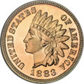 Proof Indian Cents, 1883 1C PR67 Red NGC....
