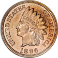 Proof Indian Cents, 1896 1C PR66 Red NGC....
