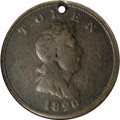 Colonials, 1820 TOKEN North West Token, Copper Fine 15 NGC....